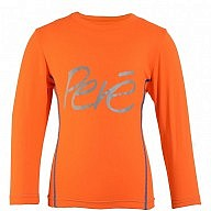 Orange Long Sleeved Top