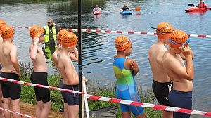 open water swim start